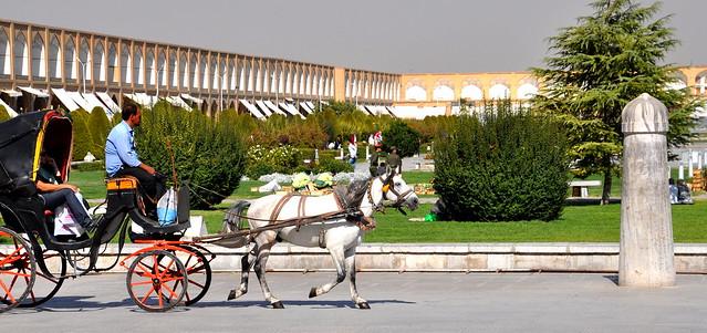 Hop-hop,hop, en balade à Ispahan !