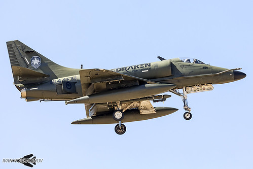 A-4K Skyhawk N144EM Draken International | by Ivan Voukadinov