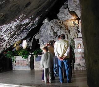 Sassinoro (BN), 2003, Il Santuario di Santa Lucia.