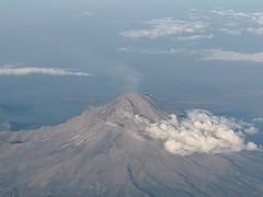 Iztaccihuatl y Popocatepetl desde las alturas