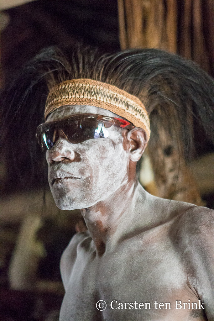In the long-house | In the Papuan Asmat region (Indonesia ...