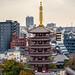 Senso-ji Tempel - Tokio