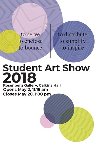 Student Portfolio - Spring Art Show 2018