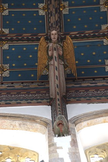 chancel roof angel (FE Howard, 1930) | by Simon_K