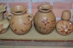 Potes em cerâmica