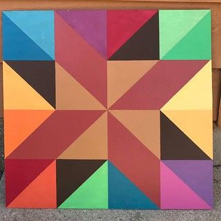 Barn quilt house staining | by robayre