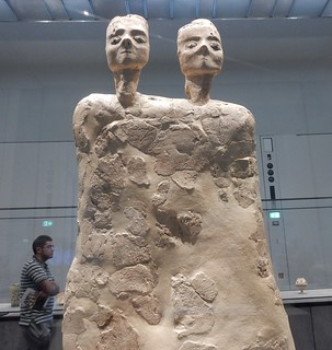 Two Headed Statue