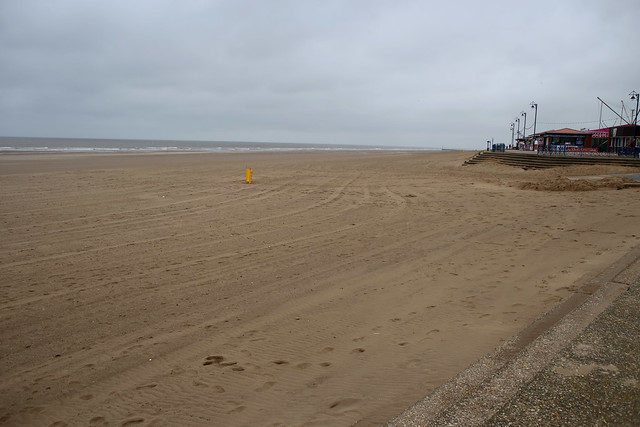 The beach at Mablethorpe