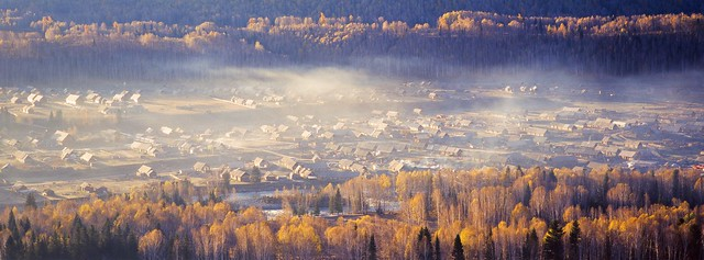 新疆禾木(Hemu Village, Xinjiang, China)