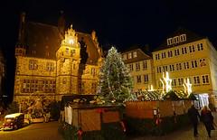 2018-12 24 12-27 Marburg 111 Rathaus, Markt
