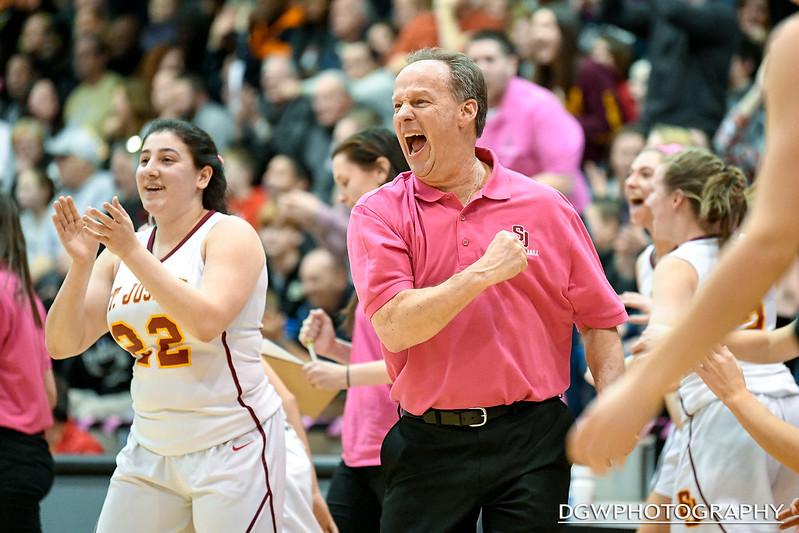Trumbull vs. St. Joseph - High School Girls Basketball