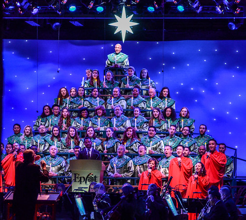 Candlelight Processional middle choir Epcot | by gamecrew7
