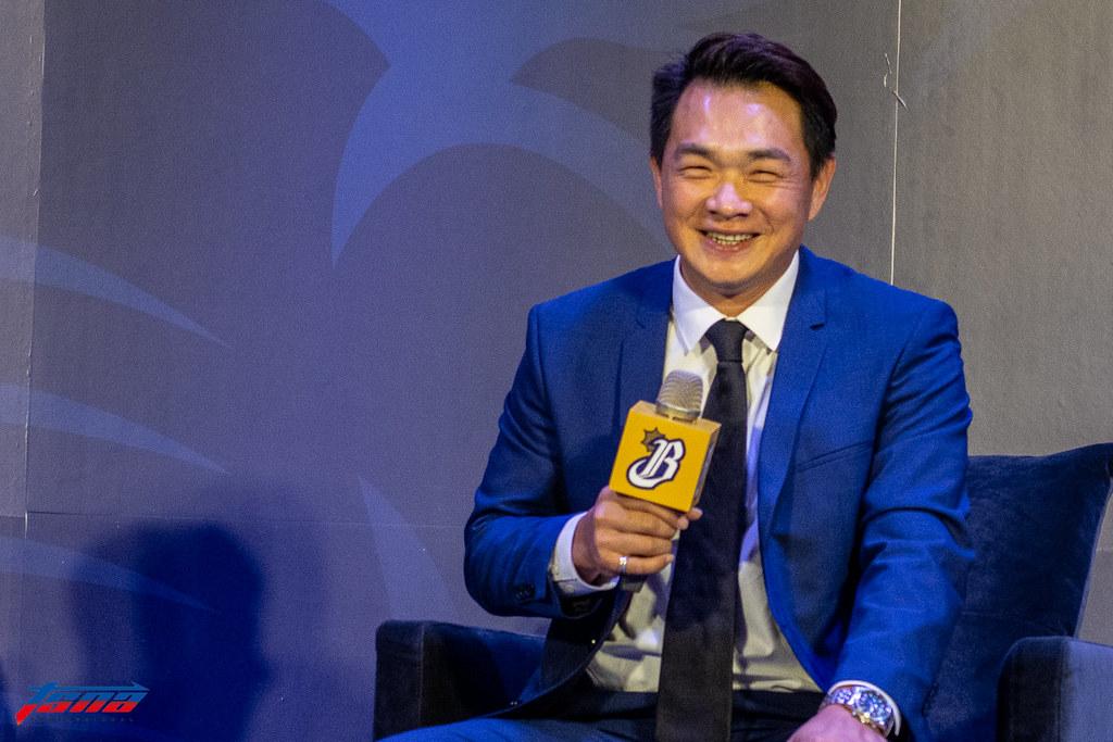 彭政閔宣布退休。(資料照。特派記者王啟恩/現場拍攝)