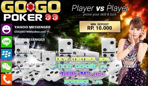 Situs Judi Domino QQ Online Terpercaya | Gogopoker99