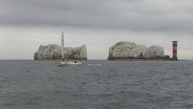 58. Emmelène's First Voyage - the Needles - 3