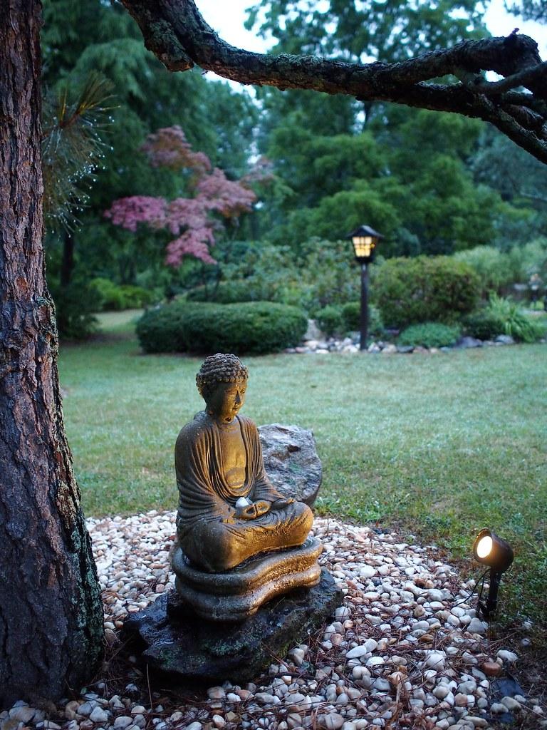 Meditation Garden Seabrook Buddhist Temple Seabrook New Robert Ehrenbeck Flickr