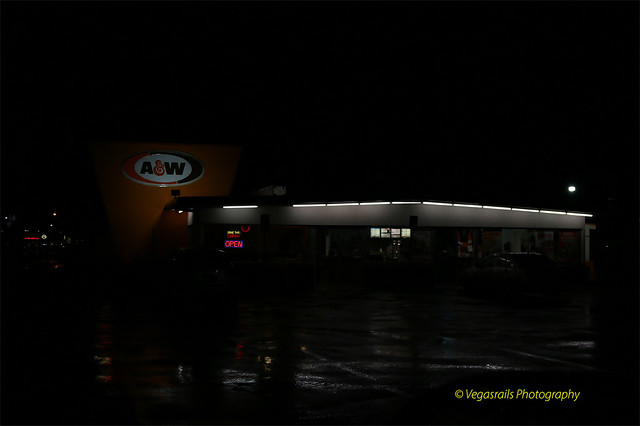 The A&W Restaurant Boulder City Nv