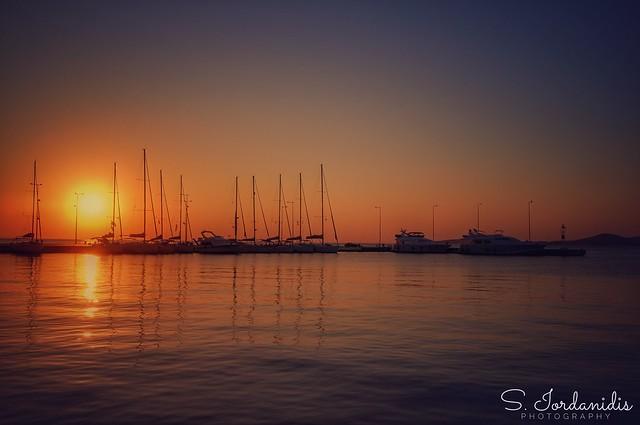 Sunset, Methana-Greece