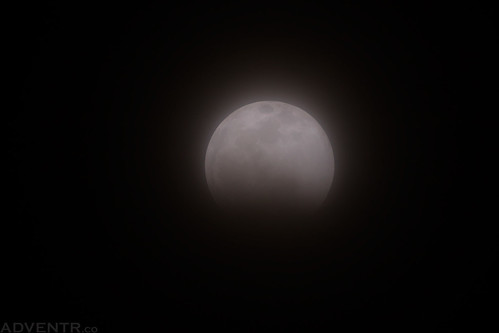Partial Lunar Eclipse | by IntrepidXJ