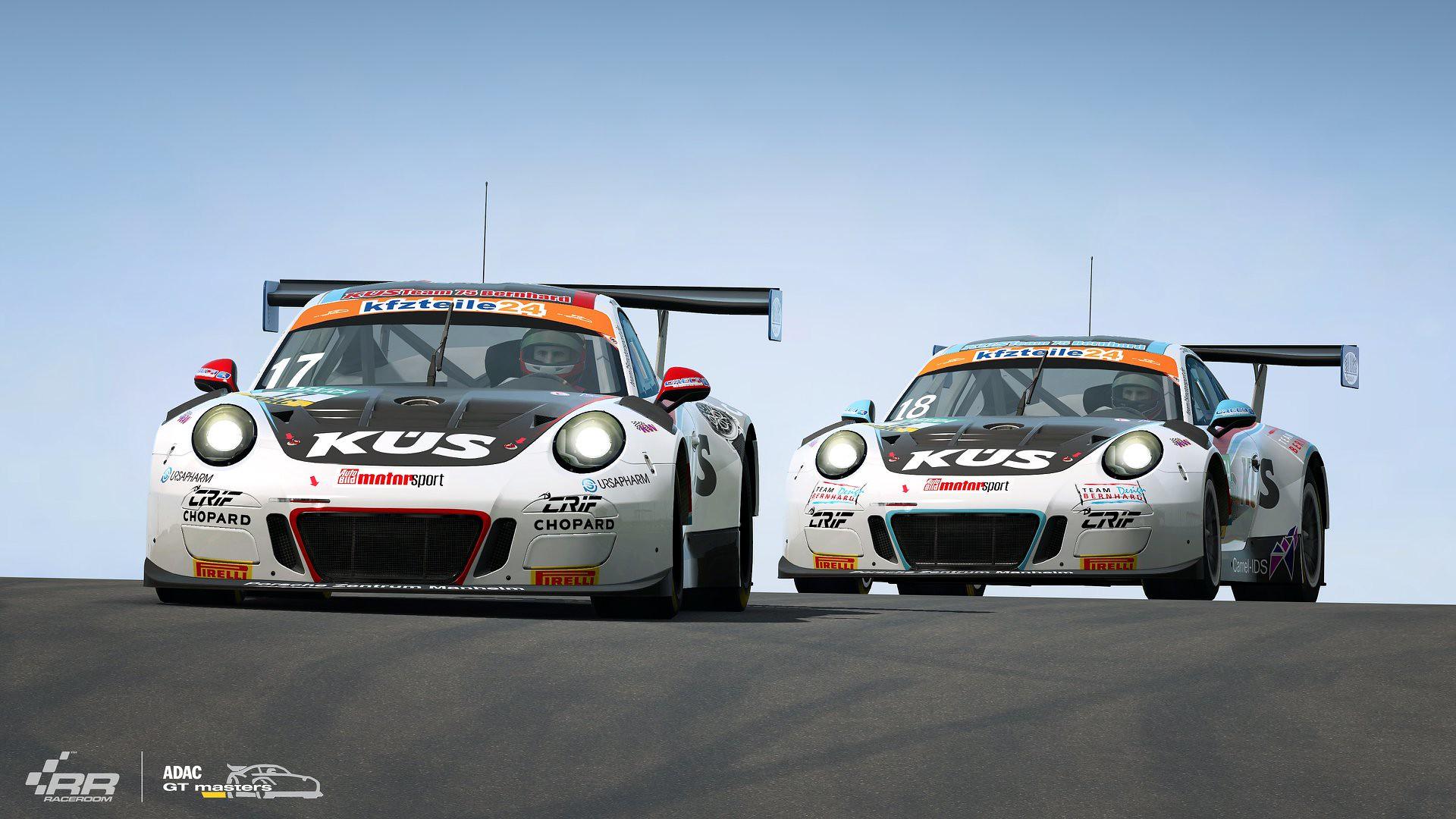 RaceRoom ADAC GT Masters 2018 Porsche 4