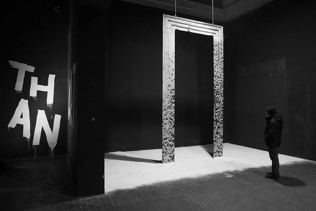 """""""Dualità""""  La natura o la condizione di ciò che è composto di due elementi o principi: la d. dell'uomo (in quanto formato di anima e di corpo).  Installazione per Mono/Tono Ex Dogana, Roma 2019"""
