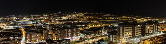 Panorámica de Bilbao oeste