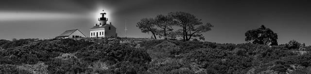 The Night Beacon - Point Loma Lighthouse