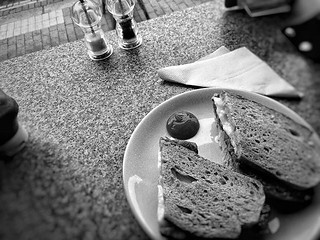 The salt and pepper that I didn't use. #bw #monochrome #blackandwhite #everyday | by .scribe