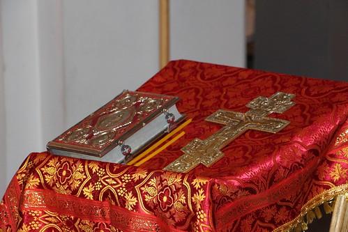 Пасхальное Богослужение в Свято-Никольском храме станицы Кавказской IMG_1186