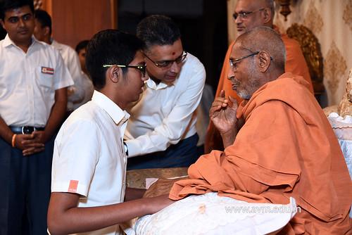 Std-10-11-12-visit-to-Haridham-for-Swamishree's-Blessings-(98) | by Atmiya Vidya Mandir