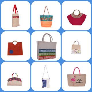 Eco Friendly Jute Bags  - Indiajutes.com
