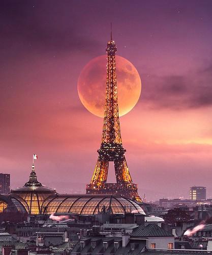 Огромная кровавая луна   by beautynext