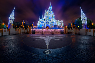 Cinderella Castle Dreamlights at Warp Speed | by TheTimeTheSpace