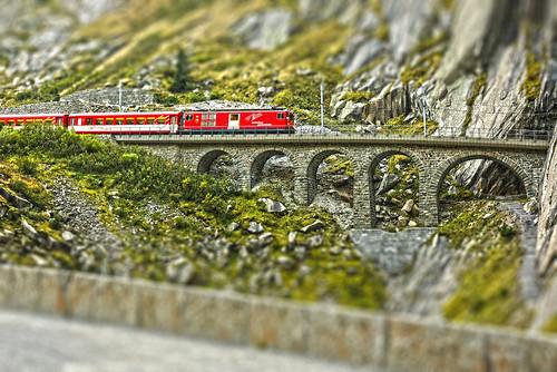 Gotthard railway in miniature ©twe2011☼
