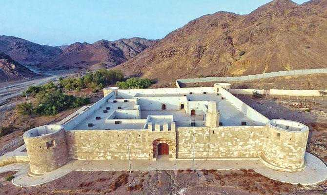 4814 The History of 400 years old Al-Zareeb Castle in Tabuk, Saudi Arabia 01