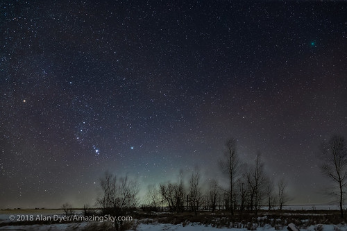 Winter Green Comet with Orion | by Amazing Sky Photography