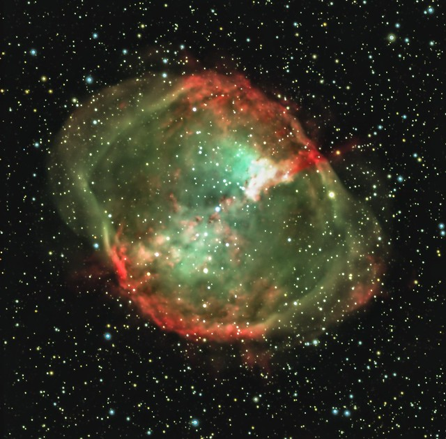 M27 the Dumbell Nebula