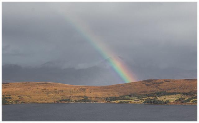 Rainbow & Little Loch Broom, Torridon
