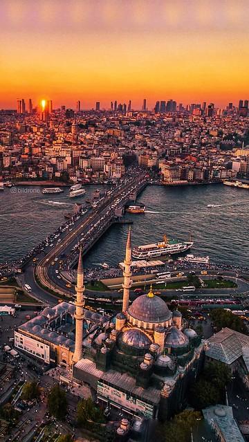 City - Turkey - ISTANBUL - Panorama, Sunset-01