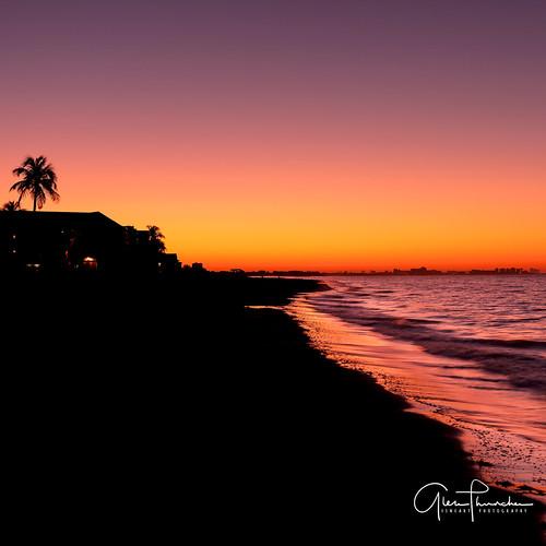 fujifilm fuji gfx50s fujigfx50s gf3264mmf4rlmwr mediumformat scenic landscape waterscape oceanscape beach tropical sunrise colors reflections silhouettes shadows ftmyers florida southwestflorida gulfcoast landscapephotography fineartphotography