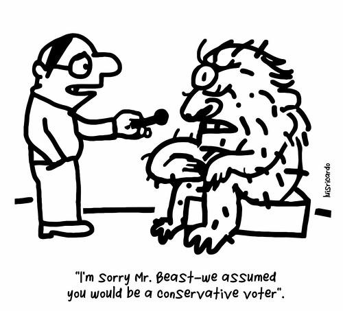 Mr. Beast didn't seem very bright. Luis Ricardo cartoon. | by LuisRicardo