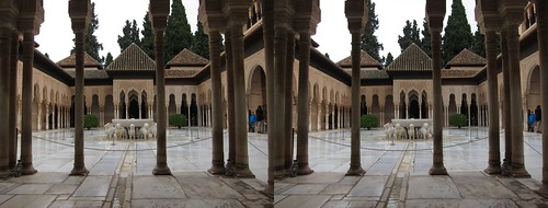 Alhambra 3D photo | by Stereomania