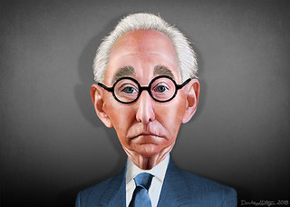 Roger Stone - Caricature | by DonkeyHotey