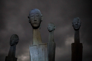 Wooden heads | by TAZMPictures