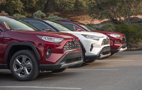2019 Toyota RAV4 Lifestyle Media Event Photo