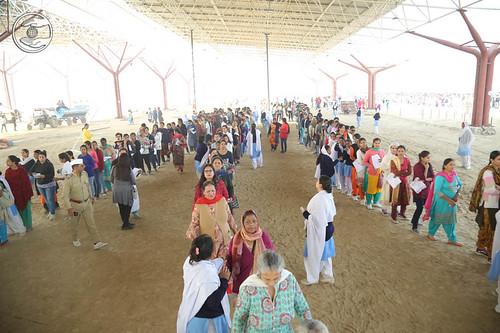 Arrival of participants