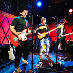 Mon, 10/12/2018 - 8:04am - Parquet Courts Live at Rockwood Music Hall, 12.10.18 Photographer: Gus Philippas