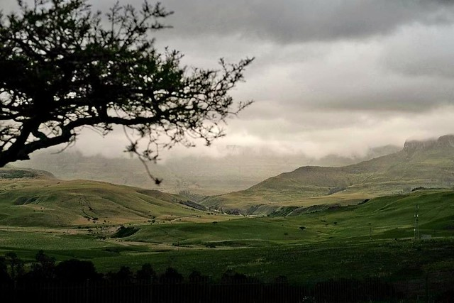 Soft Evening Hues and Tones in the Majestic Drakensberg