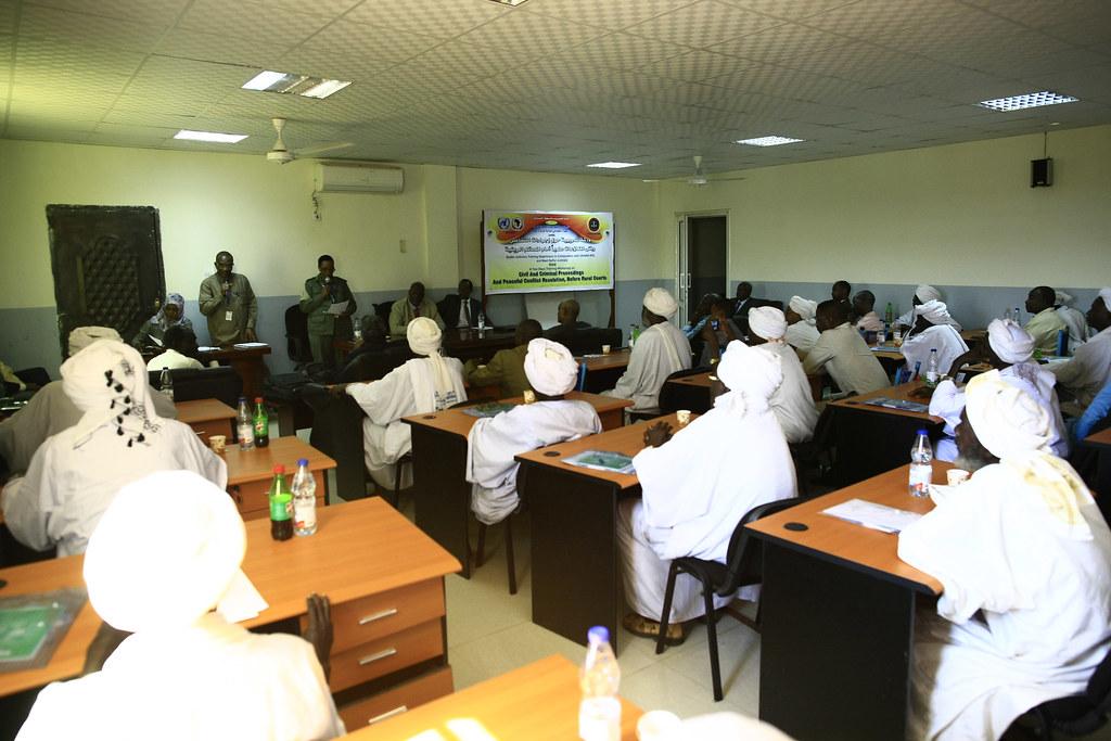 ... UNAMID trains rural courts judges in West Darfur - by UNAMID Photo