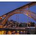 Oporto. Puente de Luis I sobre el río Duero.